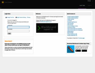 uu.blackboard.com screenshot