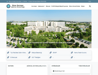 uudsim.uludag.edu.tr screenshot