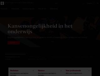 uva.nl screenshot
