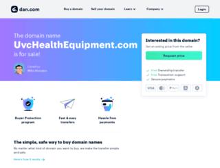 uvchealthequipment.com screenshot