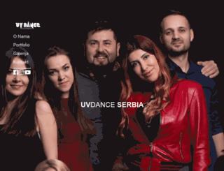 uvdance.rs screenshot