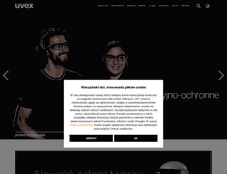 uvex-integra.pl screenshot