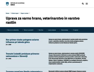uvhvvr.gov.si screenshot
