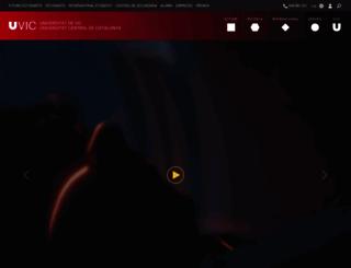 uvic.cat screenshot