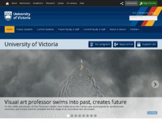uvic.com screenshot