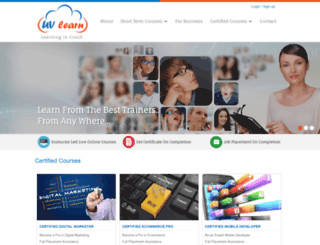 uvlearn.com screenshot