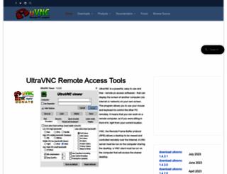 uvnc.com screenshot