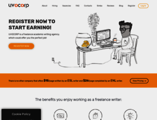 uvocorp.com screenshot