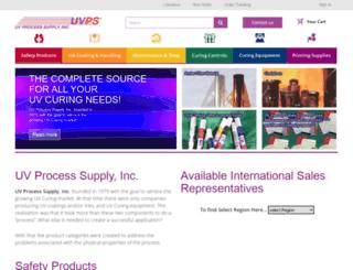 uvprocess.com screenshot