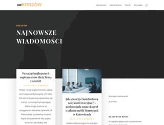 uw.rzeszow.pl screenshot