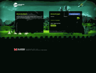 uwars.com screenshot