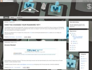 uwcsea-techxperts.blogspot.sg screenshot