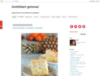 uwielbiamgotowac.com screenshot