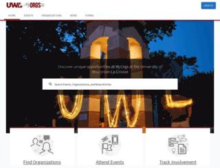 uwlmyorgs.collegiatelink.net screenshot