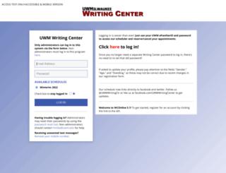 uwm.mywconline.com screenshot