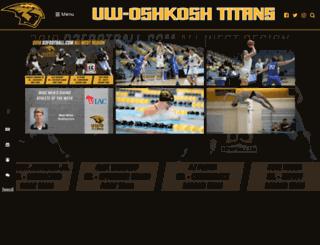 uwoshkoshtitans.com screenshot