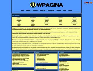 uwpagina.nl screenshot