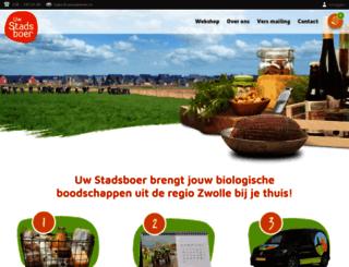 uwstadsboer.nl screenshot