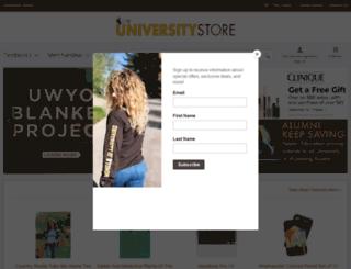 uwyostore.com screenshot