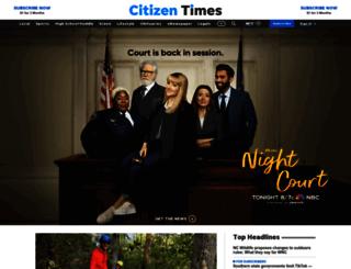 ux.citizen-times.com screenshot