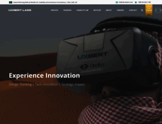 uxbert.com screenshot