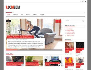 uxmedia.net screenshot