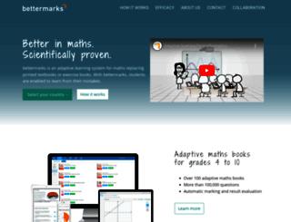uy.bettermarks.com screenshot