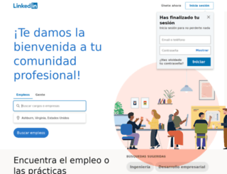 uy.linkedin.com screenshot