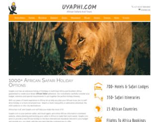 uyaphi.com screenshot