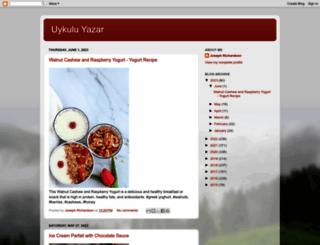 uykuluyazar.blogspot.com screenshot