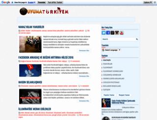 uyumaturkiyem.blogspot.com.tr screenshot