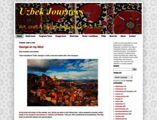 uzbekjourneys.com screenshot