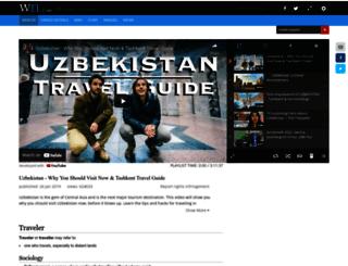 uzbektraveller.com screenshot