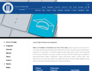 uzem.okan.edu.tr screenshot