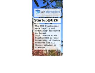 uzh-startuppers.ch screenshot