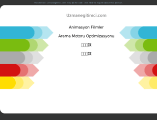 uzmanegitimci.com screenshot