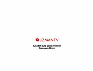 uzmantv.com screenshot