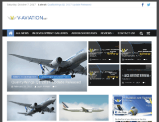 v-aviation.net screenshot