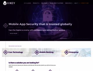 v-key.com screenshot