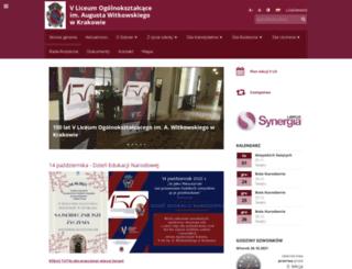 v-lo.krakow.pl screenshot