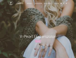 v-pearl.hu screenshot