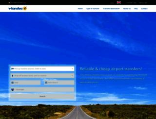 v-transfers.com screenshot