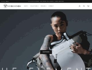 v-venom.com screenshot