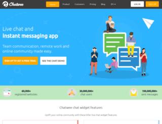 v1.chatwee.com screenshot
