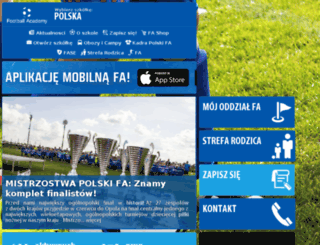 v1.footballacademy.pl screenshot