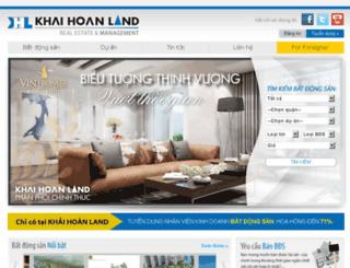 v1.khaihoanland.vn screenshot