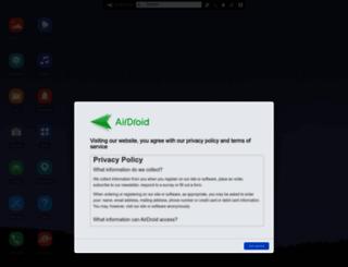 v2.airdroid.com screenshot