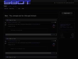 v2.bot-cave.net screenshot