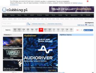 v2.clubbing.pl screenshot