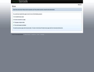 v2.communityarchives.com screenshot